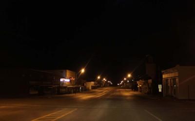 Hay Springs, Nebraska.August 27, 2012..The town of Hay Springs, Nebraska