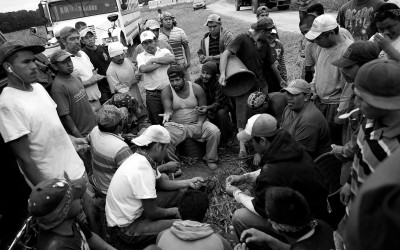 Migrant workers in North Carolina.