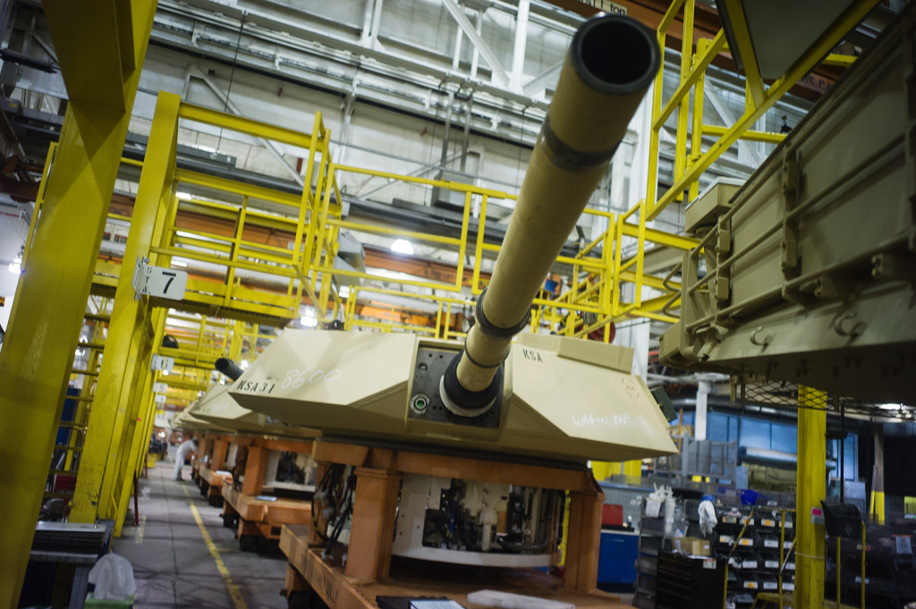 HEAVY METAL AMERICA'S TANK FACTORY <br> Alan Chin