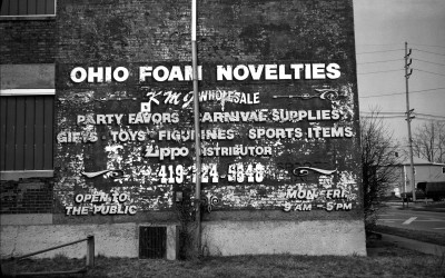 Ohio Foam Novelties factory, at 435 N Elizabeth Street.