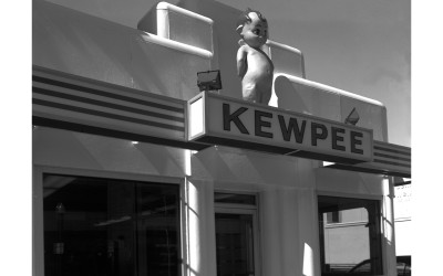 Kewpee fast food restaurant, built 1928 and in continuous operation. Approved for the National Registry of Historic Places but not listed due to the owner's objections. Kewpee is a small franchise chain with its headquarters in Lima and five remaining locations in Ohio, Michigan, and Wisconsin.