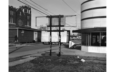 Downtown Lima resembles many Midwestern small towns with many closed businesses and boarded up storefronts, even as some new buildings and industry continue.
