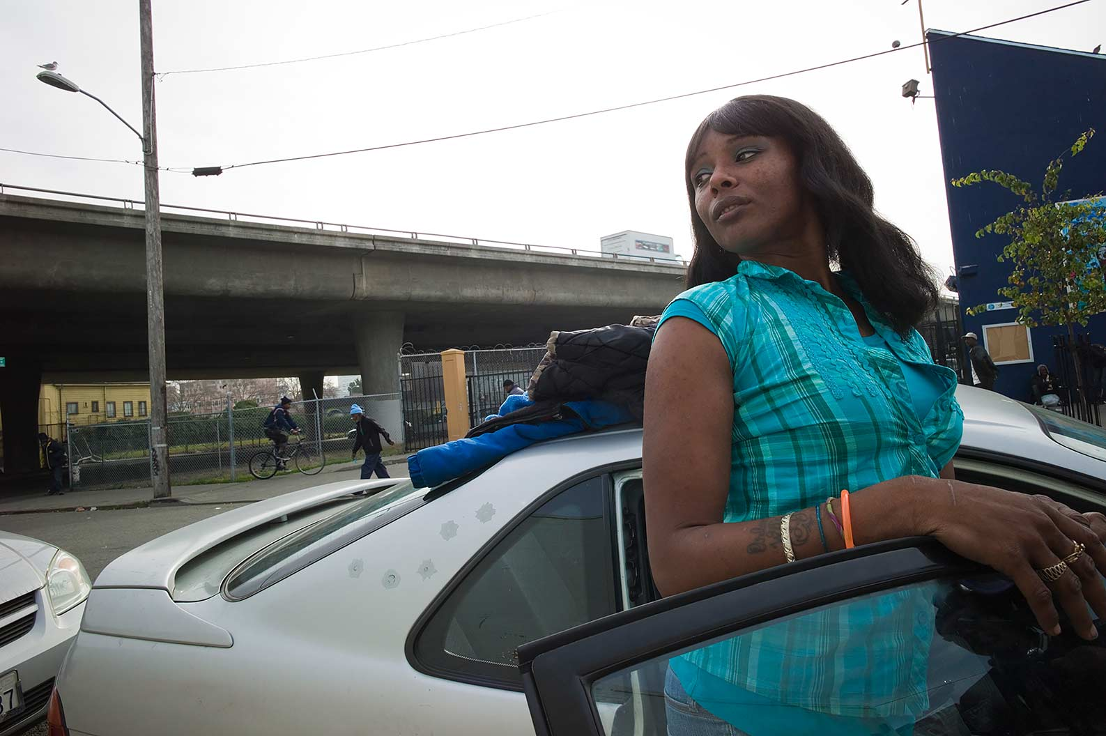 Tyeshia Anderson, 29, Is A Self Employed Hair Stylist, Recovering Crack  Addict