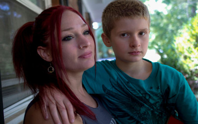 Sarah and her 10 year old son, Taylor are finally free of the daily beatings, humiliations and threats. Fears? They are never over.