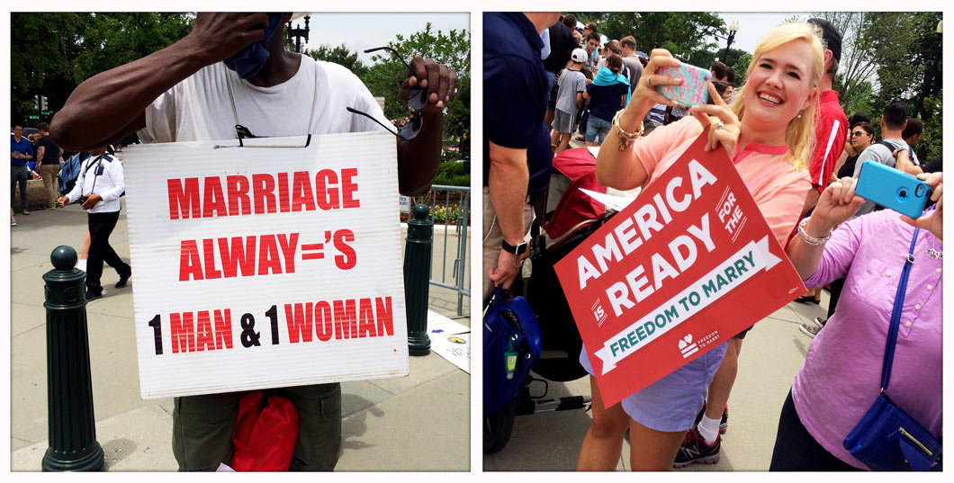 America appears to be ready for Gay Marriage as a recent Washington Post-ABC poll showed a record 61percent of Americans support same-sex marriage.